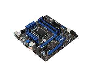 MSI Computer Corp. DDR3 1600 Intel LGA 1155 Motherboards (H77MA-G43)