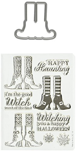 Hero Arts Witch Feet Stamp & Die