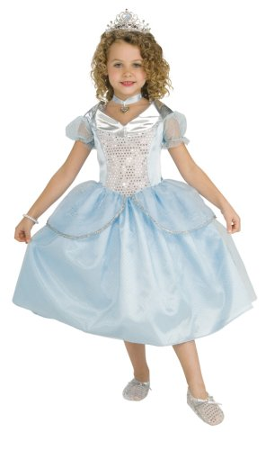Rubie's Child's 5 Precious Pieces Crystal Princess Costume, Small