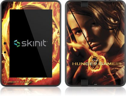 Skinit The Hunger Game -Katniss Bow & Arrow Vinyl Skin for Amazon Kindle Fire HD 7
