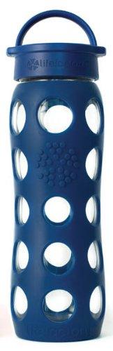 Lifefactory 22-Ounce Beverage Bottle, Dark Blue