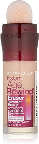 Maybelline New York Instant Age Rewind Eraser Treatment Makeup | Review
