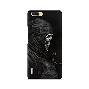 Mobicture Skull Abstract Premium Printed Case For Huawei Honor 6 Plus