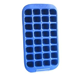 Bar Originale Large 32-Hole Silicone Ice Tray with Hard Plastic Carry Case