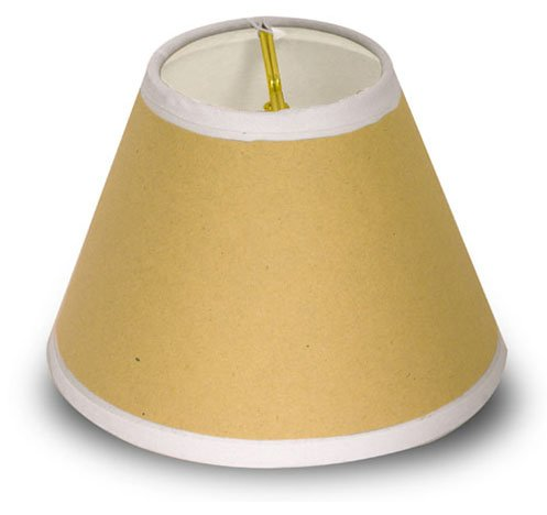 Adhesive Lamp Shade Is Easy To Cover With Your Own Special Fabric! (Lot/10)