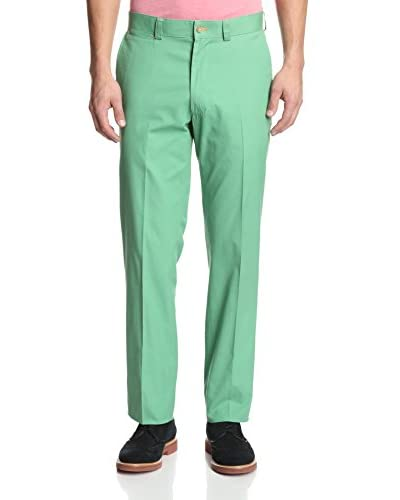 J. McLaughlin Men's Solid Emerson Twill Pant