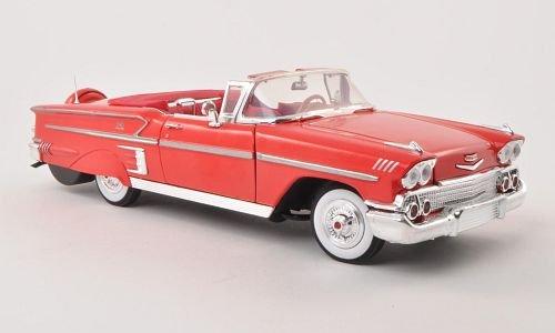 chevrolet-impala-convertible-rot-1958-modellauto-fertigmodell-motormax-118