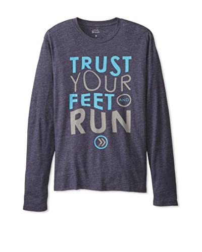 athletic recon Men's Trust Your Feet Long Sleeve Long Sleeve Tee
