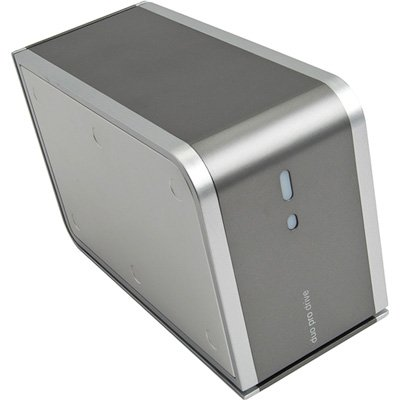 HITACHI PROD4000Q DUO PRO DRIVE 4TB EXTERNAL HARD DRIVE WITH USB2.0, ESATA & IEEE1394 INTERFACES