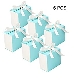 Gift Boxes, Bezgar Gift Bags Party Favor Gift Wrapping Display Treat Box Christmas Gifts Jewelry Gift Cardboard Boxes, 3.9