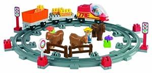 Ecoiffier - Jeu de construction - Train Campagne - Abrick
