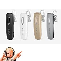 QCY J02 Wireless Bluetooth 4.0 Stereo Earphone Sport Headphone Music Headset with Mic for Samsung S6(Assorted Color) earphone samsung