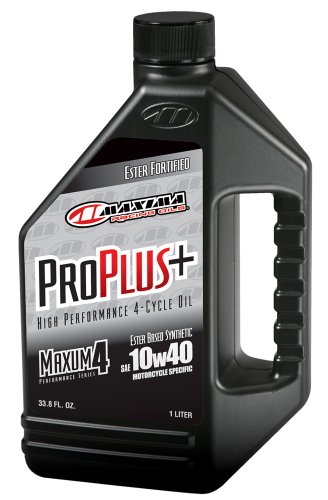 maxima-30-02901-pro-plus-10w-40-synthetic-motorcycle-engine-oil-1-liter-bottle