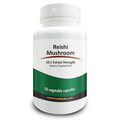 Le champignon Reishi herbes Real - 7 000 Mg de