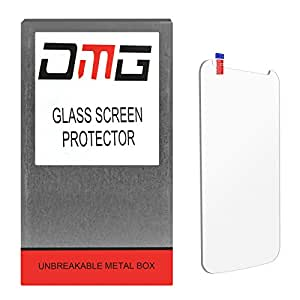 DMG Premium Ultra Clear Ballistic 9H Tempered Glass Screen Protector for LG G2 [Unbreakable Metal Box Packing]