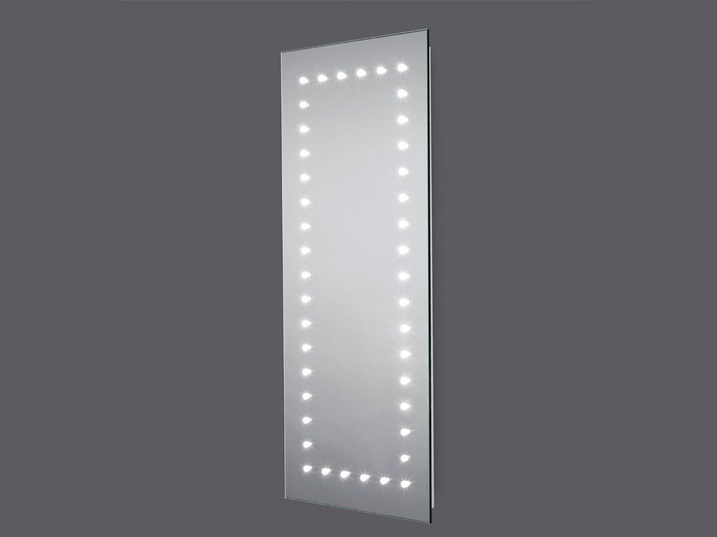 Inka LED Illuminated IP44 Bathroom Mirror 300mm(W) x 700mm(H) with Sensor and Full Size Demister Pad   Next Day Delivery       Customer review and more news
