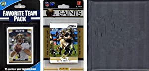 NFL New Orleans Saints Licensed 2012 Score Team Set and Favorite Player Trading Card... by C&I Collectables