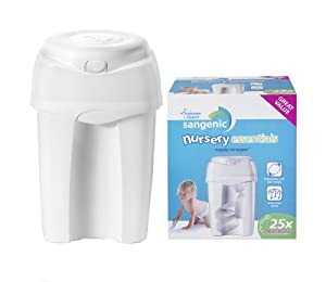 "Tommee Tippee -Poubelle à couches Sangenic ""Nursery Essentials"" + 1 recharge incluse"