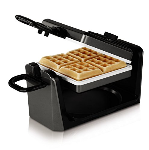 Oster CKSTWF11WC-ECO DuraCeramic Belgian Flip Waffle Maker, Black (Oster Ceramic Waffle compare prices)