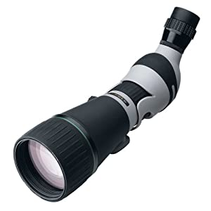 Leupold Kenai HD Angled Spotting Scope, Gray Black, 25-60 x 80mm by Leupold