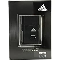 Adidas Moves 0:01 By Adidas For Men Edt Spray 1 Oz