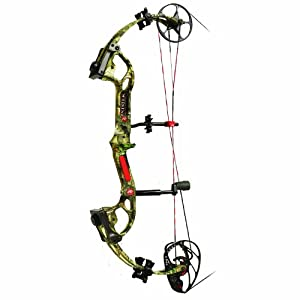 PSE Sinister Ready to Shoot Infinity 70-Pound Bow Package by PSE