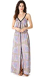 Juicy Couture Women's Maxi Dress 6 Imperial Starflower