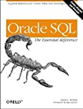 img - for Oracle SQL: the Essential Reference book / textbook / text book