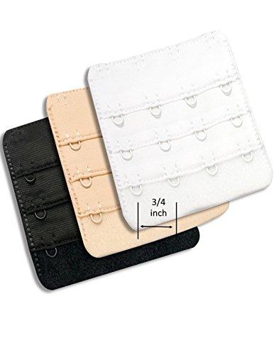 Best Ladies Bra Extender 4 hook Soft Adjustable Band to Lengthen Your Back Strap