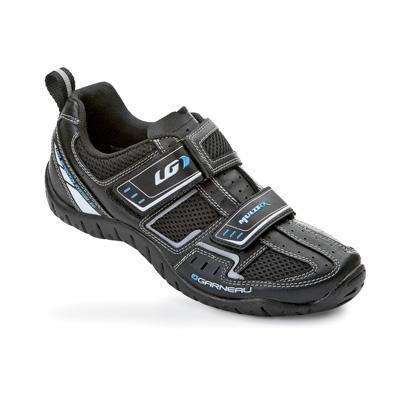 Louis Garneau Women's Multi RX Fitness Cycling Shoe, Black, 37 EU