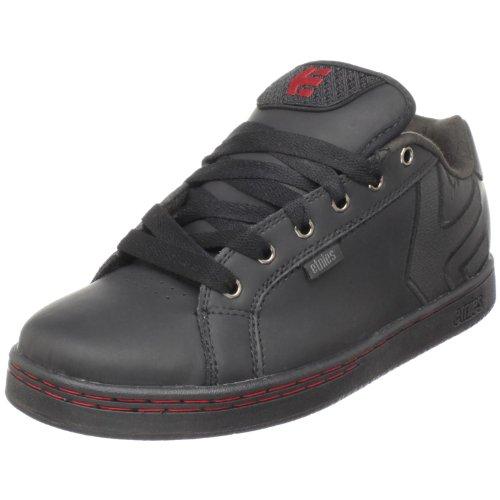 Etnies Men's Fader Skate Shoe,Black/Black/Red,7 M US