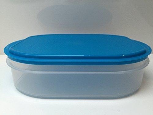TUPPERWARE 1,6 Litre Frais Armoire Armoire fraîche Saucisse Fromage turquoise transparent