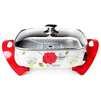 Korean Multi-Function Cooker Red Pattern Style No. 613
