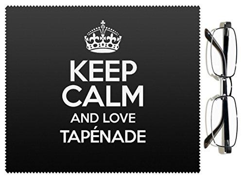 Noir Keep Calm and Love tapénade Chiffon pour lentille couleur 3058