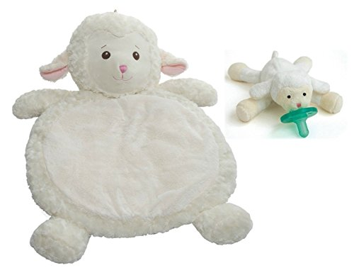 Mary Meyer Bestever Baby Mat And Pacifier, Lamb