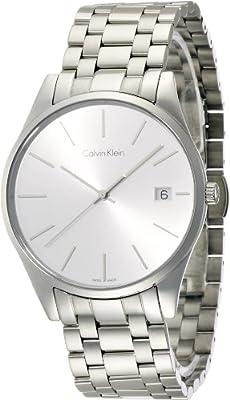 Calvin Klein Men's Date Display Steel Time Watch, K4N21146