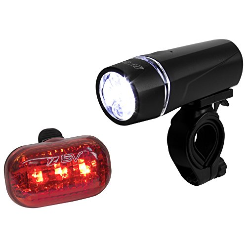 BV-Bicycle-Light-Set-Super-Bright-5-LED-Headlight-3-LED-Taillight-Quick-Release