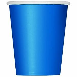 Royal Blue Paper Party Cups x 14