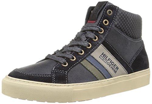 Tommy Hilfiger Craig 1C, Sneaker, Uomo, Blu (408), 40