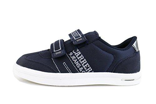 CARRERA JEANS sneakers bambino 34 EU blu camoscio tela AG503