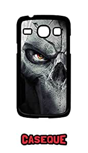Caseque Rock Skull Back Shell Case Cover for Samsung Galaxy Core