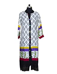 Visaga Women's Cotton Straight Kurti - B00UMWG3O8