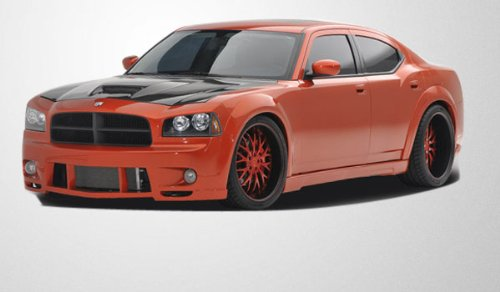 2006-2010 Dodge Charger Couture Luxe Wide Body Kit - 10 Piece - Includes Couture Luxe Wide Body Front Bumper Cover (104812) Couture Luxe Wide Body Rear Bumper Cover (104814) Couture Luxe Wide Body Side Skirts Rocker Panels (104813) Couture Luxe Wide Body Front Fenders (104815) Couture Luxe Wide Body Rear Fenders (104816) Couture Luxe Wide Body Door Caps (104817)