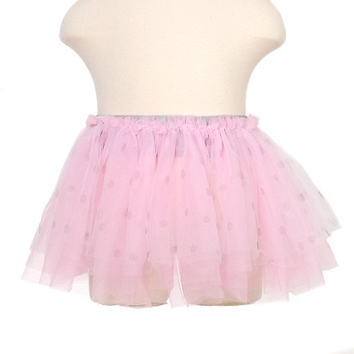 BabyGear Pink Dotted My First Tutu Toddler Girls 2T-4T
