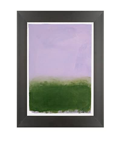"Filippo Ioco ""Lavender Spring"" Original Hand Painted Acrylic On Paper"