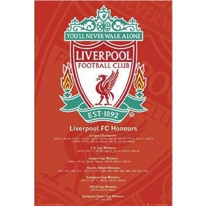 Liverpool Honors Poster