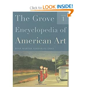 The Grove Encyclopedia of American Art Dr. Joan Marter