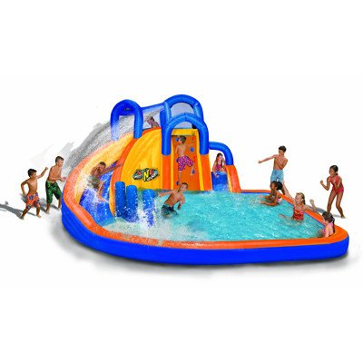 Pool Slides:Banzai bend N' dash Water recreation area Images