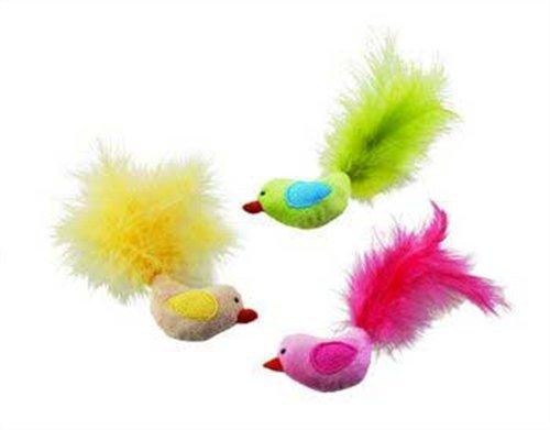 Image Ethical Plush Fantastic Feathers Bird Catnip Cat Toy
