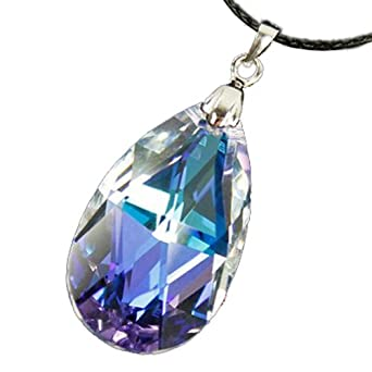 Costume Anime Sword Art Online Crystal Necklace,Small: Clothing